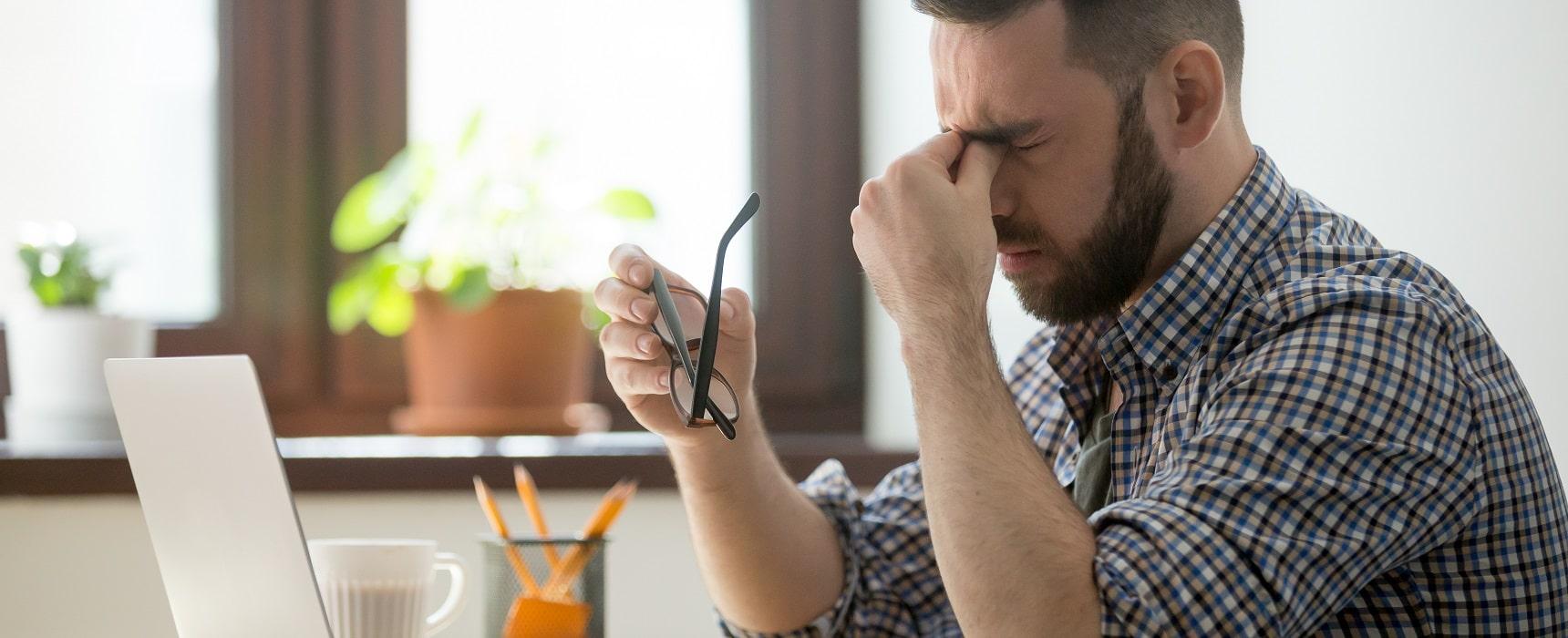 Eye Strain Symptoms – Treatment, Causes & Prevention